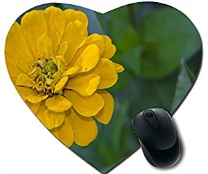 Yellow Zinnia Elegans Mouse Pad Desktop Mousepad Laptop Mousepads Comfortable Office Of Mouse Pad Mat Cute Gaming Mouse Pad