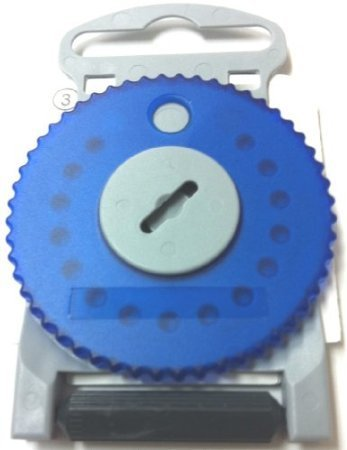 HF4 BLUE Wax Guard Wheel for Siemens Hearing Aids - BLUE SIDE LEFT