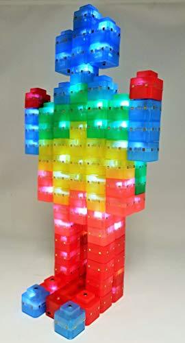 Magz-ElectroCubes 32 Piece Magnetic Light Up Building Set ()