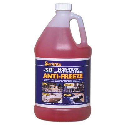 (AMRS-31400R * Starbrite Sea Safe Non-Toxic Anti-Freeze, 50F 1 Gallon (Shipping Restrictions: Ground Only To Contiguous 48 States))