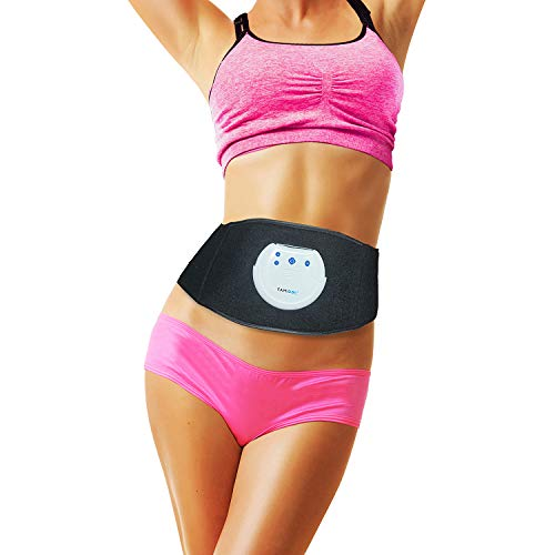 FAMIDOC Waist Trimmer Ab Stimulator Belt Newest Gel-Free Permanent Use Silicon Electrodes Technology...