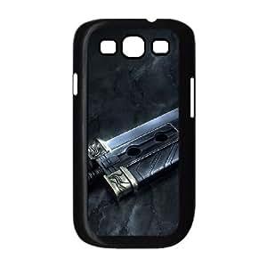 Espada Mortal J9N86W7XJ funda Samsung Galaxy S3 9300 funda caso V803UN negro
