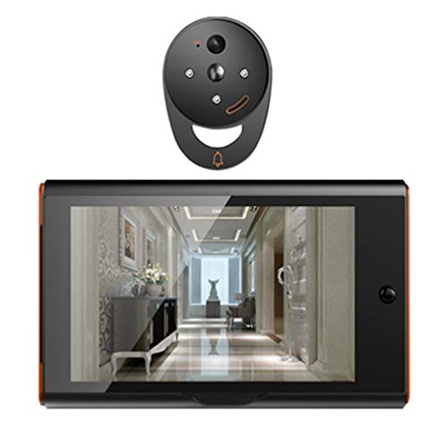 Nrpfell 7 Inch Wireless Digital Peephole Viewer Home Security Smart Video Doorbell Pir Motion Detection&Recording 170 Degrees Angle by Nrpfell (Image #1)