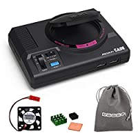 Retroflag MEGAPi Case with Functional Power and Reset Buttons Safe Shutdown and Safe Reset, with Cooling Fan & Heatsinks for Raspberry Pi 3 B+ & Raspberry Pi 3/2 Model B