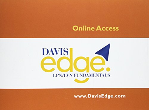 Davis Edge for LPN/LVN Fundamentals (Access Card): Online Review for Test Prep & Success