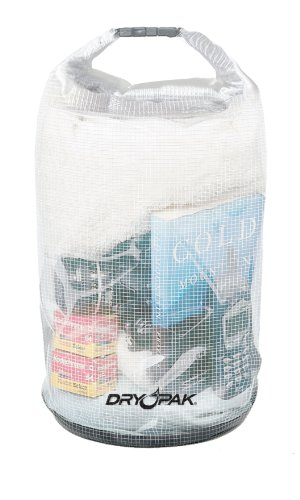 DRY PAK WB-3 Roll Top Dry Gear Bag, Reinforced Clear, 9.5