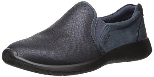 ECCO Women's Women's Soft 5 Slip On Fashion Sneaker, Marine/Navy, 36 EU / 5-5.5 US