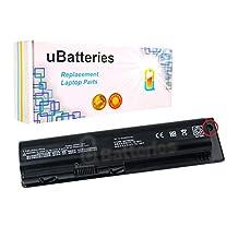 UBatteries Laptop Battery 484170-001 For HP Pavilion dv4 dv5 dv6 Series - 12 Cell, 8800mAh (With External Charge Port)