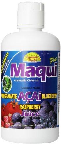 Maqui santé dynamique Plus de mélange de jus, 32 once liquide de santé dynamique