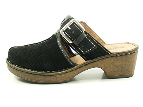 Josef Seibel 62963-924 Rebecca 63 Womens Clogs and Mules Schwarz
