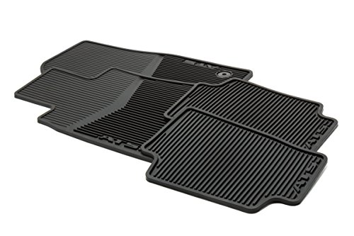 GM Accessories 22759927 Front and Rear All-Weather Floor Mats in Jet Black with ATS Logo by General Motors (Image #2)
