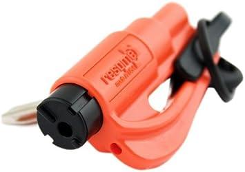 The Original resqme Keychain Car Escape Tool, Made in USA (Orange), colore:  arancione, dimensioni: Single: Amazon.it: Auto e Moto