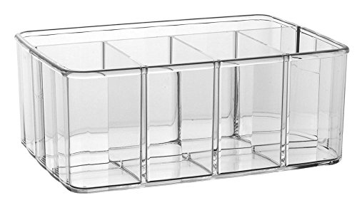 Shadow Pots Eye Mousse (Clear Plastic Vanity Organizer | 5-Compartments)