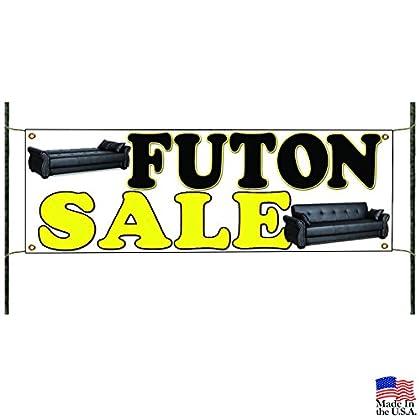 Image of Home and Kitchen Futon Sale Mattress Duvet Furniture Home Advertising Vinyl Banner Sign
