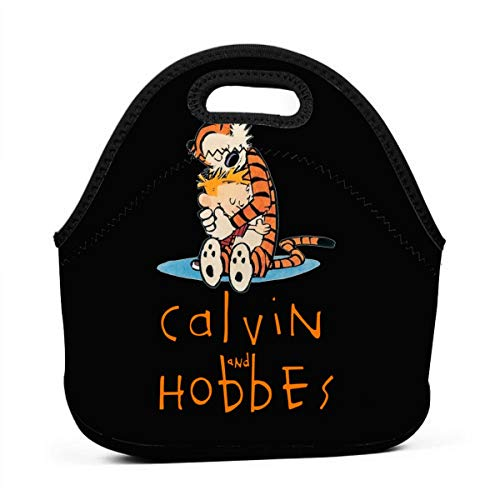 Insulated Lunch Bag Neoprene Lunch Tote, Calvin And Hobbes - Storage Calvin