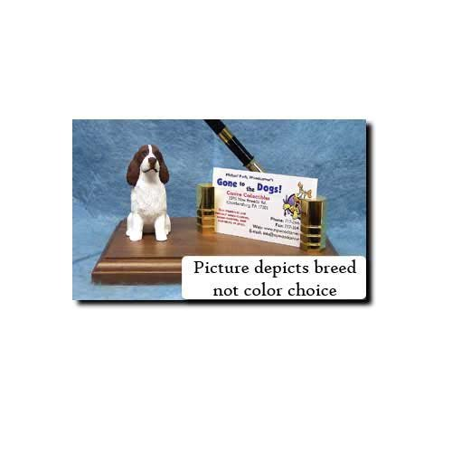 English Springer Spaniel (Liver) Desk Set