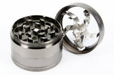LIHAO Alloy Pollen Grinder/Spice Grinder/Herb Grinder, 3 Inch /75mm 1 3 Inch Heavy Zinc Alloy Construction, fits perfectly in your hand Multi functional--Can be used as spices grinder, herb grinder etc . The best grinder to evenly grind your herb, bud or spice without leaving large chunks behind Super Sharp Teeth for smooth easy grinding action