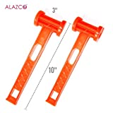 Kyпить ALAZCO 2 Mallets with Tent Peg Remover - Camping Hiking Climbing Picnic Tent Pitching Secure and Remove Tent Stakes на Amazon.com