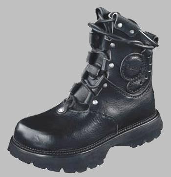 Betula Combat Boot Black Leather 38 - stylishcombatboots.com