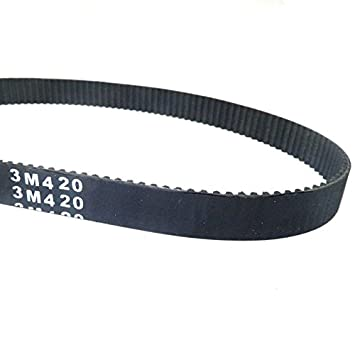 YunShuo Drive Belt HTD 420 3M 12 Electric RAZOR Petrol Scooter Pulse Biek Rocket