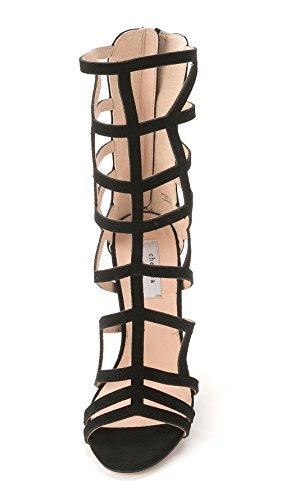 Chelsea & Zoe Denice Women's Heels Black vwb4YalCA