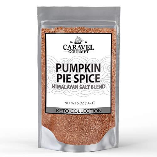 Keto Collection - Pumpkin Pie Himalayan Pink Salt Blend - 5 Ounces - by Caravel Gourmet (Best Pumpkin Pie Beer)