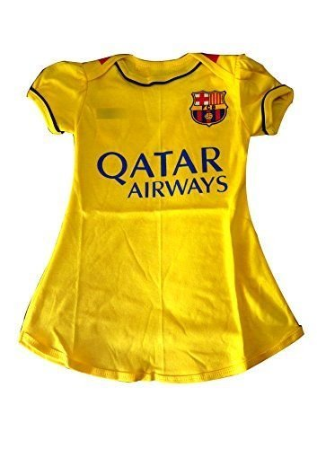 new product 816cd bfb46 Amazon.com : Barcelona yellow dress For Baby Girl 4-8 months ...
