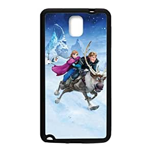 Happy Frozen Princess Anna Kristoff Olaf Sven Cell Phone Case for Samsung Galaxy Note3