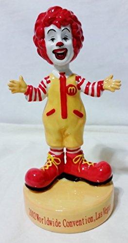 McDonald's Ronald McDonald Limited Edition Ceramic Figurine - 2002