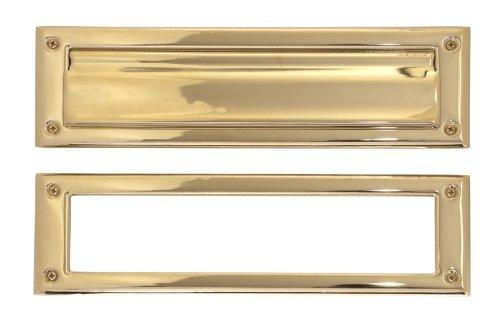 Brass Accents Brass 3.6 x 13-inch Mail Slot Lifetime Polished Brass