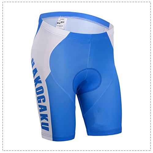 Yowamushi Pedal Men's Breathable Padded Cycling Shorts Hakogaku Style (Rei Mens Shorts)