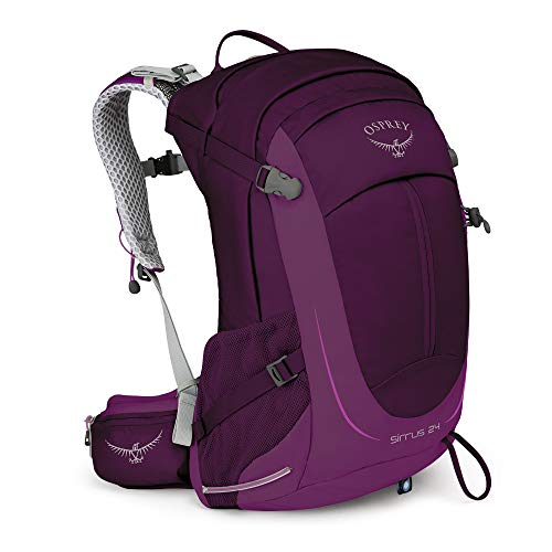 - Osprey Packs Sirrus 24 Women's Hiking Backpack, Ruska Purple, o/s, One Size