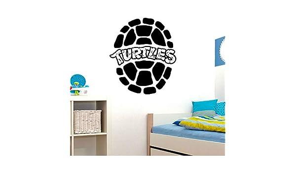 pegatina de pared pegatina de pared frases Tortugas Ninja ...