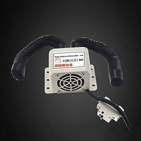 MIBANG Calentador de Coche port/átil descongelador 12V 24V 800W Parabrisas Calefacci/ón r/ápida Calefactor el/éctrico Desempa/ñador para Coche cami/ón Viaje Equipo de calefacci/ón de Coche