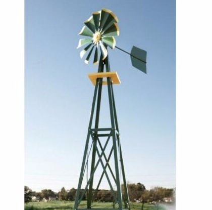 Ornamental Windmill, Metal Windmill Decor| 9 Ft. by By Outdoor Design (Image #2)