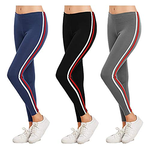 FITG18 Women's Slim Fit Track Pant (Pack of 3)