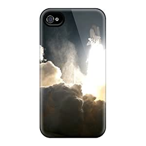 DateniasNecapeer Shockproof Scratcheproof Beautiful Space Shuttle Launch Hard Cases Covers For Iphone 6
