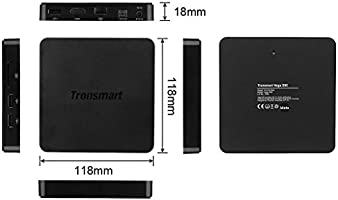 Tronsmart S95 Meta - Smart TV Android 5.1 (Quad-Core, Amlogic-S905, 2GB+8GB, Dual Wifi 2.4GHz/5.0GHz, Bluetooth 4.0, HDMI 2.0, 1000LAN, 4K, XBMC), Negro ore, Amlogic-S905, 2GB+8GB, Dual Wifi 2.4GHz/5.0GHz, Bluetooth 4.0, HDMI 2.0,