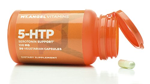 Mt. Angel Vitamins - 5-HTP, Serotonin Support (30 Vegetarian Capsules)