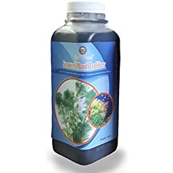 Aquatic Bloom - Liquid Plant Fertilizer for Aquariums - 16oz Organic Ready-to-use Formula - Healthy & Happy Aquatic Freshwater Plants - Over 70 Essential Vitamins, Minerals, Macro & Micronutrients