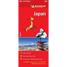 Japan - Michelin National Map 0802 2018