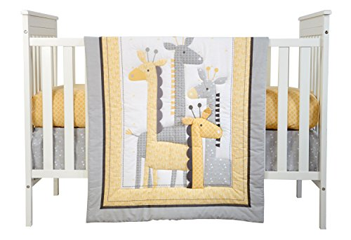 Little NoJo Giraffe Bedding Yellow product image