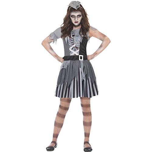 Ghost Ship Pirate Child Costumes (Ghost Ship Pirate Costume Female Medium Age 7-9 20781M)