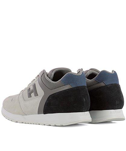 Hogan Herre Hxm3210y851i7g786s Grå Stoff Sneakers NJO3oo27FW
