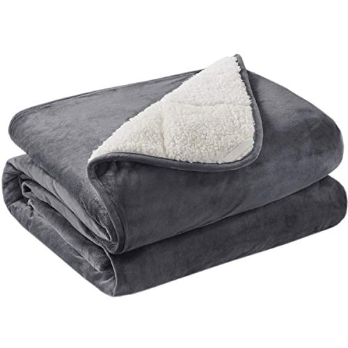 Cheap Degrees of Comfort Upgraded Weighted Throw Blanket Thick & Fuzzy Blanket Can Be Taken Anywhere Pilling Proof Durable Soft Blanket Built to Last 10LB 50x60 Charcoal Black Friday & Cyber Monday 2019
