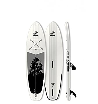 Indiana Sup Windsurf Tabla Hinchable, Unisex Adulto, Blanco/Negro ...
