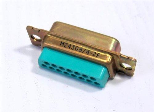 ITT CANNON DAMA15P CONNECTOR, D SUB, PLUG, 15POS, ()