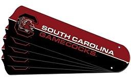 Ceiling Fan Designers 7990-USC New NCAA USC SOUTH CAROLINA GAMECOCKS 52 in. Ceiling Fan Blade Set