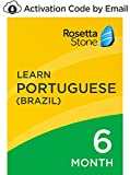 Rosetta Stone: Learn Portuguese (Brazil) for 6 months on iOS, Android, PC, and Mac - mobile & online access [PC/Mac Online Code]