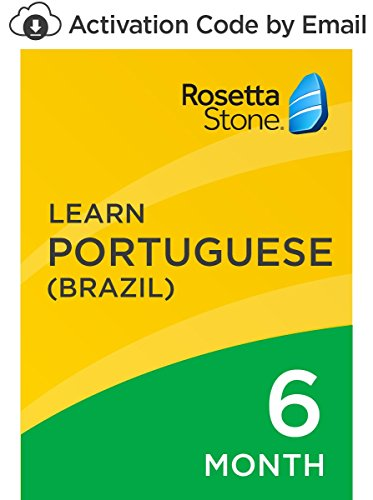 Rosetta Stone: Learn Portuguese (Brazil) for 6 months on iOS, Android, PC, and Mac [Activation Code by Email] by...